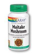 Maitake Mushroom (100 Caps) Solaray Vitamins