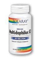 Multidophilus 12 (50 caps) Solaray Vitamins