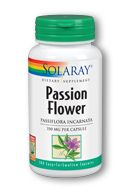 Passion Flower Capsules ( 350 mg, 100 caps) Solaray Vitamins