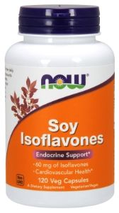 Soy Isoflavones (120 Vcaps 150 mg) NOW Foods
