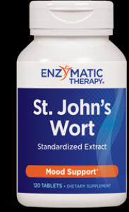 Extra Strength St. John's Wort Extract (120 tabs) Enzymatic Therapy