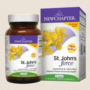 St Johns Force | St Johns Wort Extract (60 softgels)* New Chapter Nutrition