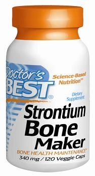 Strontium Bone Maker (340mg - 120 capsules) Doctor's Best