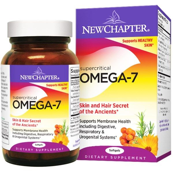 Super Critical Omega-7 (60 softgels)* New Chapter Nutrition