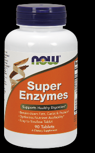 Super Enzymes (90 tablets) NOW Foods
