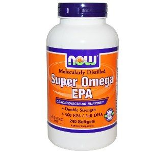 Super EPA  (240 softgels 1200  mg) NOW Foods