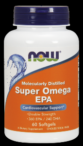 Super EPA -Double Strength ( 60 softgels) NOW Foods