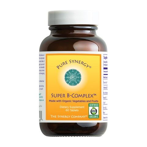 Organic Super B-Complex (60 tablets)* The Synergy Company