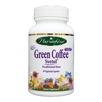 Svetol Green Coffee Bean (60 capsules) Paradise Herbs