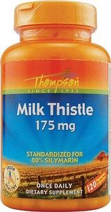 Milk Thistle (175 mg, 120 Vcaps) Thompson