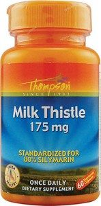 Milk Thistle (175 mg, 60 Vcaps) Thompson
