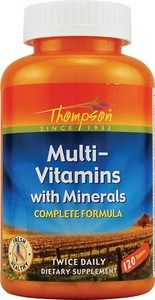 Multi-Vitamin with Minerals (120 tablets) Thompson