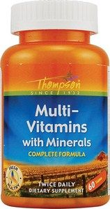 Multi-Vitamin with Minerals (60 tablets) Thompson