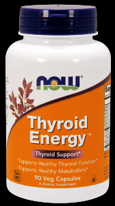 Thyroid Energy (90 Vcaps) NOW Foods