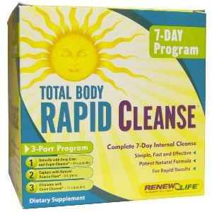Total Body Rapid Cleanse, 7-Day (3-part kit)* Renew Life