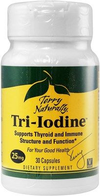 Tri-Iodine (25 mg 30 capsules) Terry Naturally