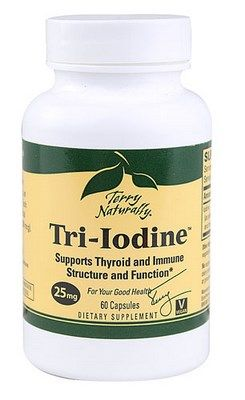 Tri-Iodine (25 mg 60 capsules) Terry Naturally
