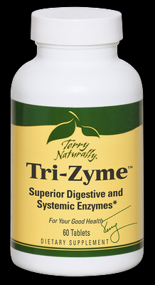 Tri-Zyme (60 tabs) Terry Naturally