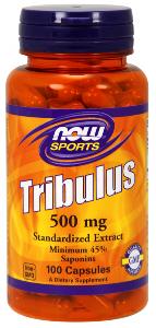 Tribulus Extract (100 Caps 500 mg) NOW Foods