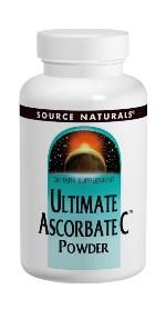 Ultimate Ascorbate C (4 oz) Source Naturals