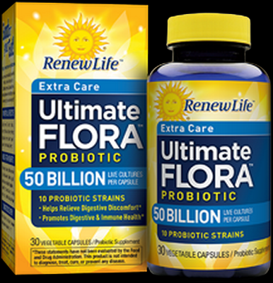 Ultimate Flora Extra Care 50 Billion (30 caps)* Renew Life