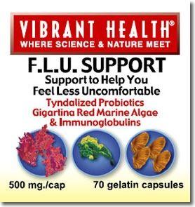 FLU Support* (70 capsules) Vibrant Health