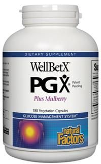 WellBetX PGX Plus Mulberry (180 caps)* Natural Factors