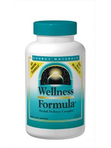 Wellness Formula (120 caps) Source Naturals