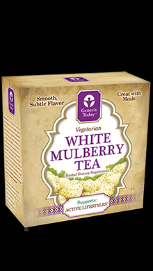 White Mulberry Tea (45 bags)* Genesis Today