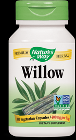 White Willow Bark (400 mg - 100 vcaps) Nature's Way