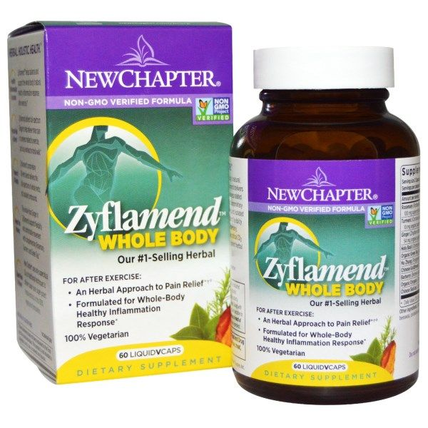 Zyflamend Whole Body (60 Vegetarian Caps)* New Chapter Nutrition