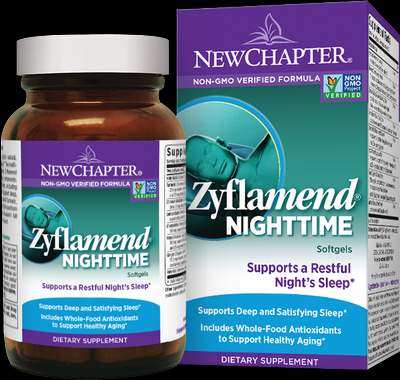 Zyflamend Nighttime (60 liquid caps)* New Chapter Nutrition
