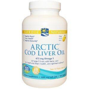 Arctic Cod Liver Oil (180 Soft Gels)* Nordic Naturals