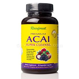 Premium Acai Super Cleanse (90 Vcaps)* Rainforest