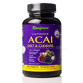 Ultimate Acai Diet & Cleanse (90 Vcaps)* Rainforest
