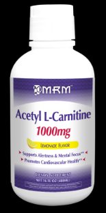 Acetyl L-Carnitine 1000 mg Liquid (Lemonade 16 oz.) Metabolic Response Modifiers
