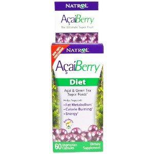 Natrol Acaiberry Diet (60 Vcaps) Natrol