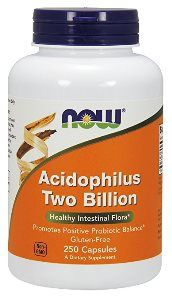 Acidophilus 2 Billion (250 caps) NOW Foods