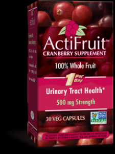 ActiFruit with Cran-Max (30 veg caps) Enzymatic Therapy