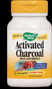 Charcoal Activated ( 100 capsules ) Nature's Way