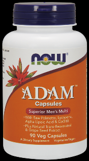 ADAM Superior Men's Multiple Vitamin (90 vcaps) NOW Foods