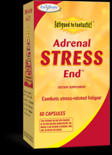 Fatigued to Fantastic! Adrenal Stress-End (60 caps) Enzymatic Therapy
