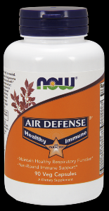 Air Defense Capsules (90 Vcaps) NOW Foods