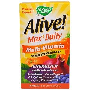 Alive! Max Daily ( 90 tablets ) Nature's Way