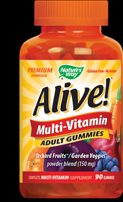 Alive Adult Multi Gummies (90 pcs) Nature's Way