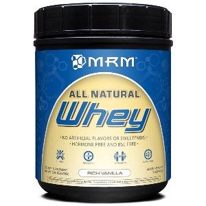 All Natural Whey - Rich Vanilla (1.01 lb) Metabolic Response Modifiers