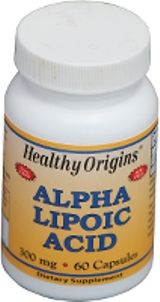 Alpha Lipoic Acid 300mg (60 capsules) Healthy Origins