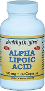 Alpha Lipoic Acid 600mg (60 capsules) Healthy Origins