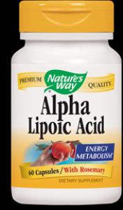 Alpha Lipoic Acid  ( 60 capsules ) Nature's Way