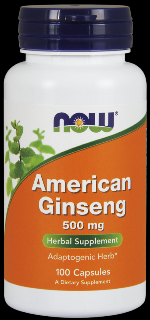 American Ginseng 5% Ginsenoside (100 Caps) NOW Foods